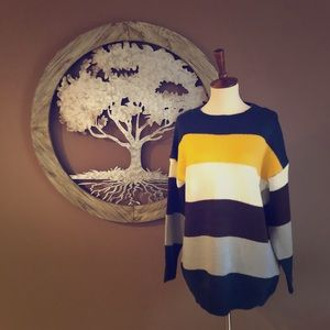 🆕 Multi Wide Striped Sweater💛